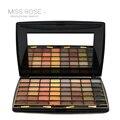 Miss rose marca mulheres olhos cosméticos maquiagem profissional novo 48 cores da paleta da sombra matte terra cor da sombra do olho maquiagem