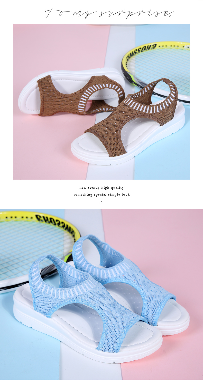 HTB18dyJRwHqK1RjSZFgq6y7JXXa0 ZUNYU New 9 colors Woman Flat Summer Shoes Fashion Women's Sandals Wedge Comfortable Sandals Ladies Sexy Sandals Plus Size 35-45