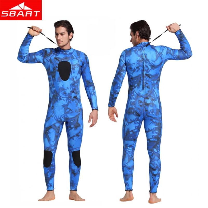 все цены на SBART Men's Camouflage 3MM Neoprene Wetsuits Underwater Hunting Surfing Diving Spearfishing Men's Sportswear Neoprene Wetsuits