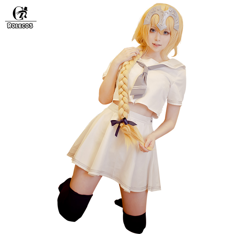 Rolecos Fate Cosplay Joan Of Arc Costumes Zero Cosplay Costumes