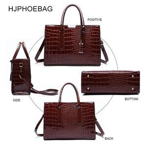 Image 4 - Fjphoebag جديد التمساح نمط المرأة حقيبة يد المرأة حقيبة ساع حقائب كتف Crossbody المرأة حقيبة يد جلدية YC196