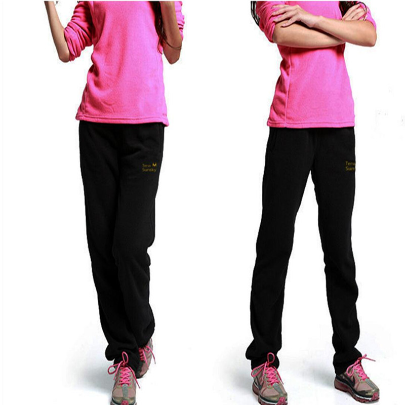 Livraison gratuite-offre spéciale en plein air femmes hiver/printemps épaississement polaire pantalons pantalons de sport pantalons TK02