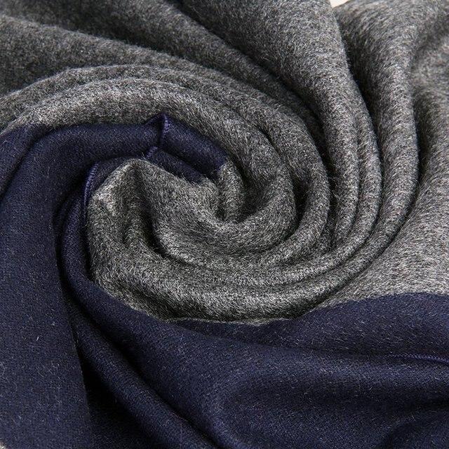 2016 осенью и зимой хорошее качество глушитель теплый шарф мужские теплый шелк щеткой шарф для бойфренда подарок G011