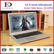 Best price Core i5-5200U Dual Core laptop notebook, 8GB RAM+256GB SSD, WIFI, Bluetooth, 1920*1080,Metal Case,Windows 10 F200