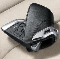 2017 New Luxury Style Leather Car Key Case Holder For BMW X5 X6 F15 Key Car