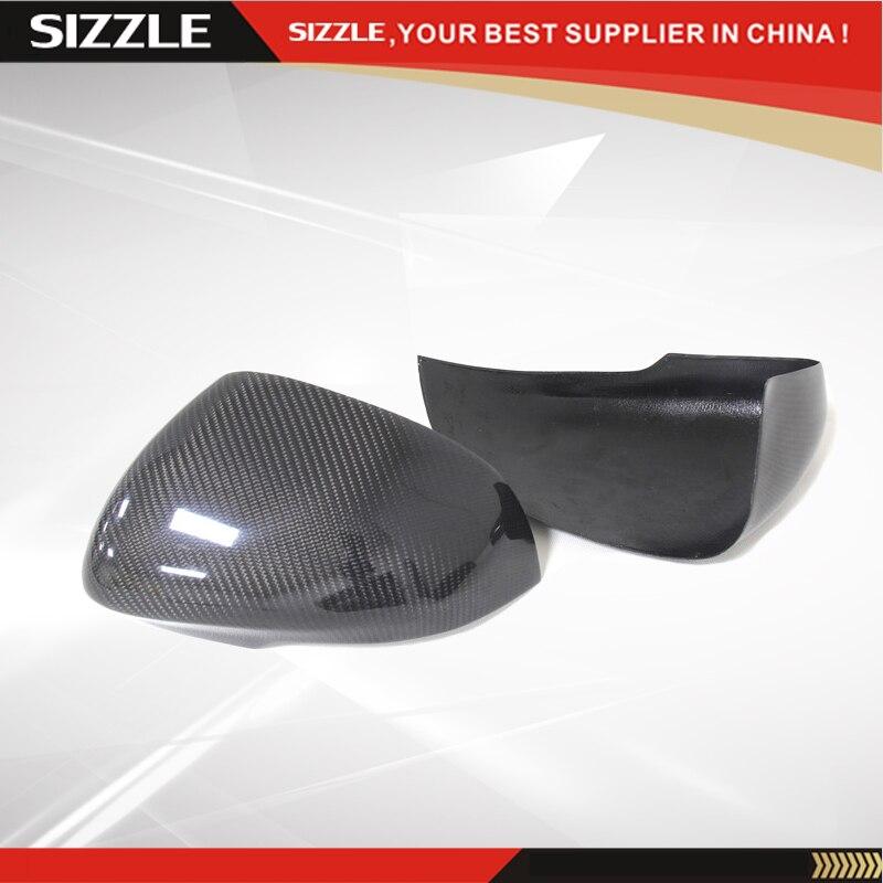 Ajouter Style fibre de carbone rétroviseur latéral pour JAGUAR XJ XK XF Performance 2010 2011 2012 2013 2014