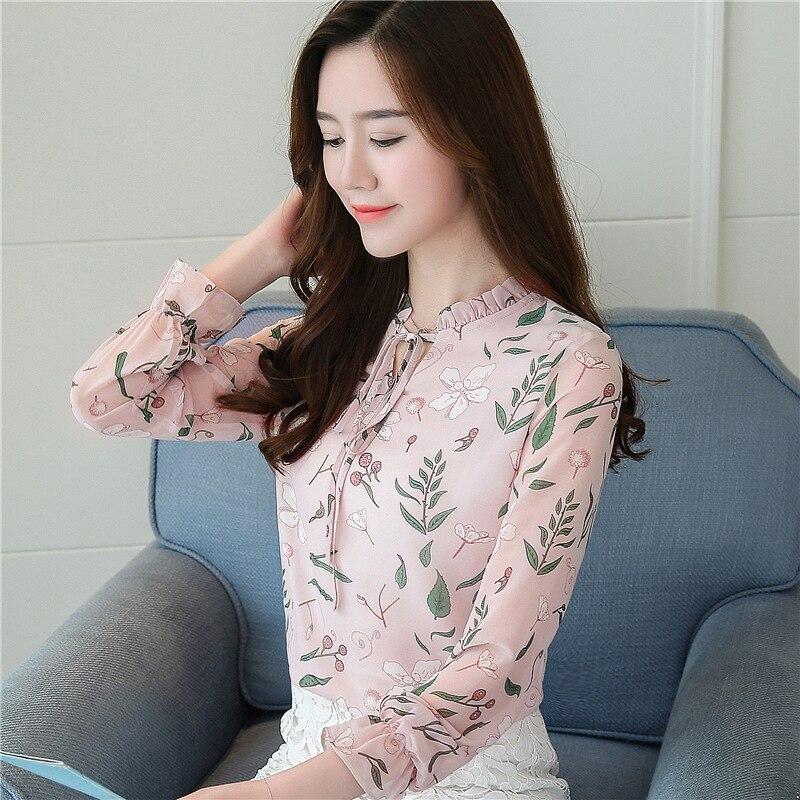 women blouses shirts woman blusas tops 2019 summer office work long sleeve ruffles elegant shirt blouse womens Plus size white 12