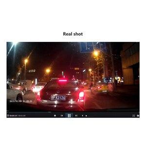 Image 5 - AOSHIKE Full HD 1080 P Câmera Do Carro DVR Espelho retrovisor Auto 4.3 Polegada Digital Video Recorder Dual Lens Registratory camcorder