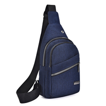 Litthing 2019 New Male Shoulder Bags USB Charging Crossbody Bags Men Anti Theft Chest Bags School Short Trip Messengers Bags