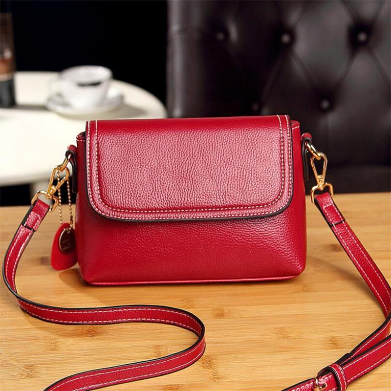 WEIXIER Fashion Women Genuine Leather Small Flap Shoulder Bags Brand Designer Female Evening Party Clutch Bags NS-56 3