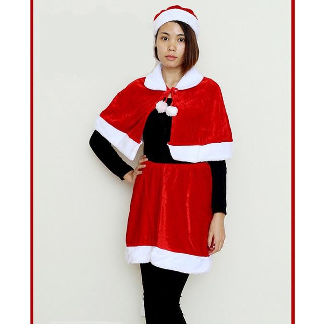 Robe De Noel Femme Pas Cher.17 99 45 De Réduction Noël Femmes Père Noël Cosplay Costume Adulte Fantaisie Fête Robe Noël Célébration Cadeau Haute Qualité Pas Cher Vêtements