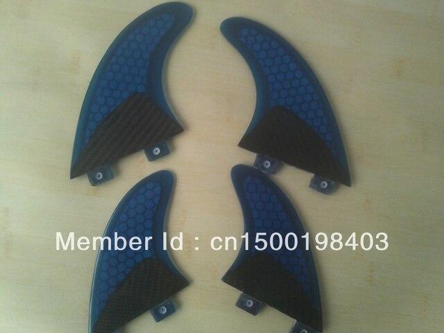 FCS/GX/G5/Surfboard fins/Half Carbon materials/Honeycomb/4 pcs per set/Professional/High quality/Competitive price