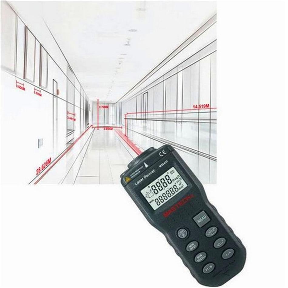 Laser Guide Ultrasonic Range Finder Laser Distance Meter Laser Rangefinder Length Area Volume Measurer