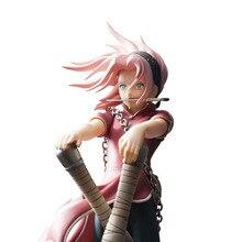 Naruto Haruno Sakura PVC 23cm Anime Action Figure Collectible Model Toy