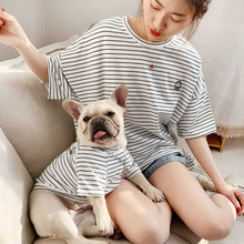 Summer Dog Clothes for Small Dogs Sweater French Bulldog Chihuahua Clothing Striped Pet Puppy Costume Jacket