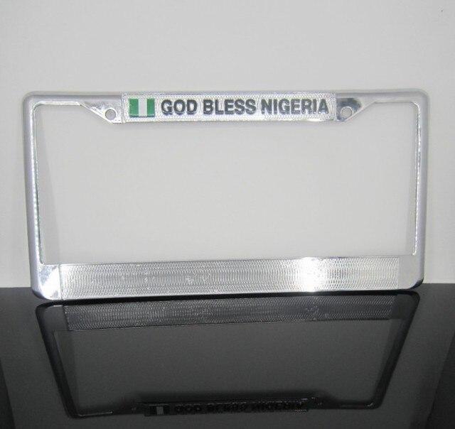 Автомобиль номерного знака плита рама нигерия классические l сплав плита 310 мм * 155 мм 1 шт.