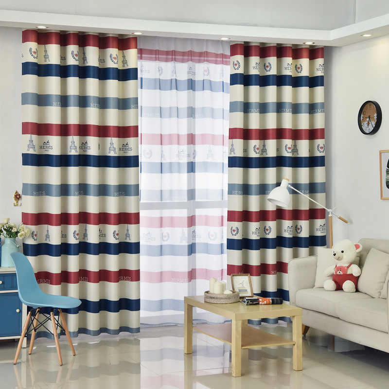 Embroidery Screen Romantic Pink Cherry Blossom Bedroom Window Voile Tulle Curtains Sheer Living Room Curtains S284&30