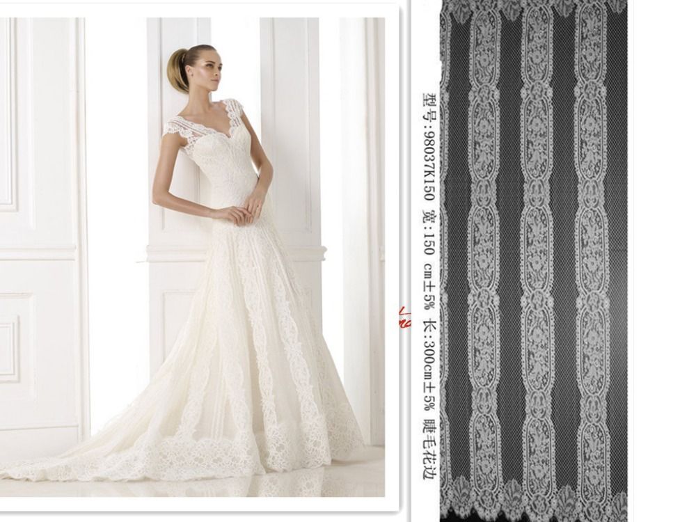 Cotton Wedding Gown: 2015 Guipure Allover Lace High Quality Wedding Off White