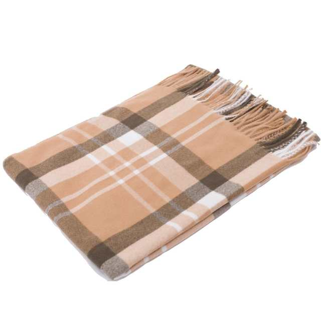 c5bb7b534 Cashmere Scarf Winter Shawl Women Stylish Check Plaid Autumn Wrap Wool Fine  Brushed Long Large Thick Tartan Tassel Hijab Camel-in Women's Scarves from  ...