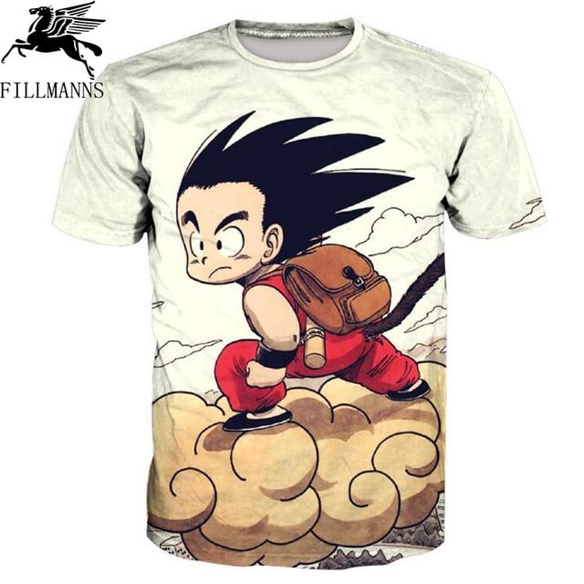 dragon ball T-shirt Men/Women 3d blue Vegeta T shirt Print Slim Fit Cosplay 3D T-shirt Fashion 2018 summer Brand Tops Tees