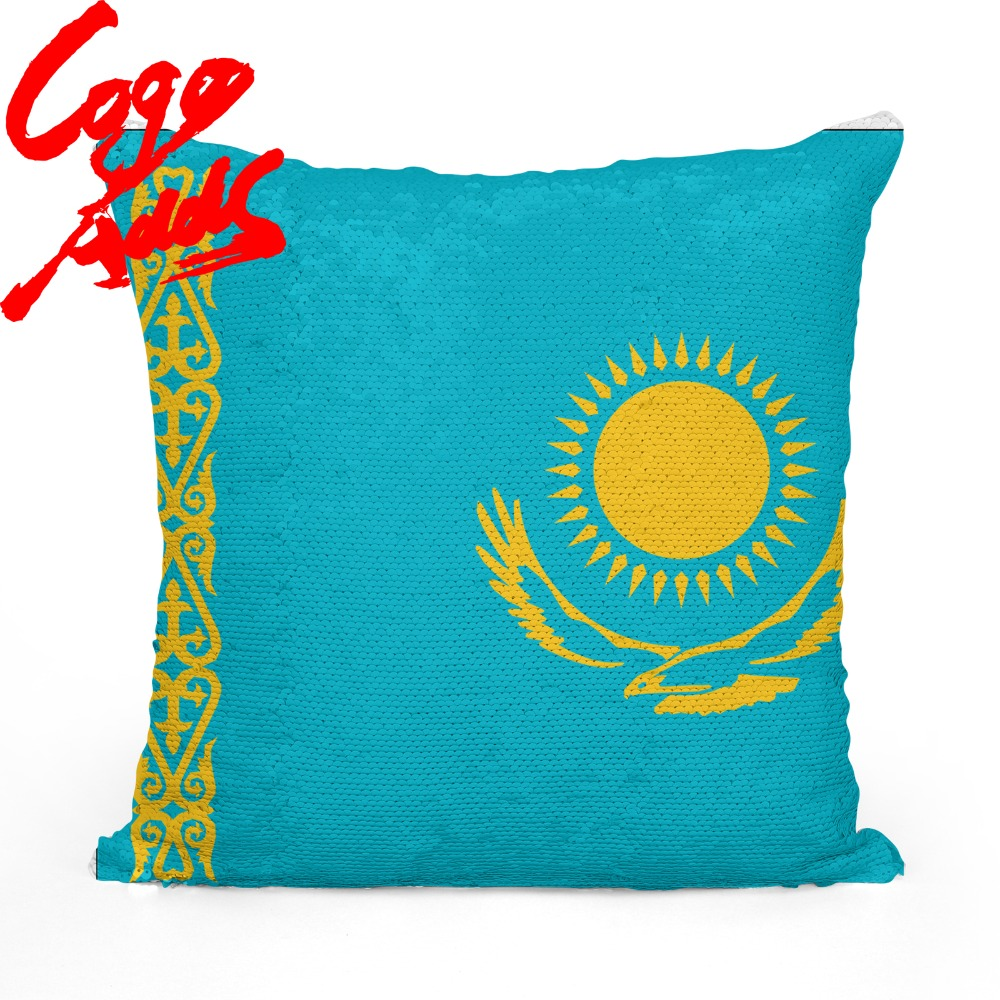 <font><b>Kazakhstan</b></font> decorative throw pillows reversible mermaid sequin pillow <font><b>case</b></font> cover dropshipping image