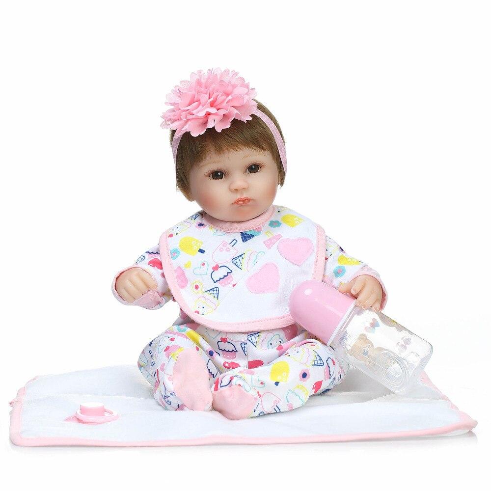 40 Silicona Bebé Recién Muñecas Bebés Nueva Reborn Npkcollection Juguetes Niños Para Niñas Jugar Cm Nacido Casa Muñeca De Vinilo Juguete sQoxtrdhCB