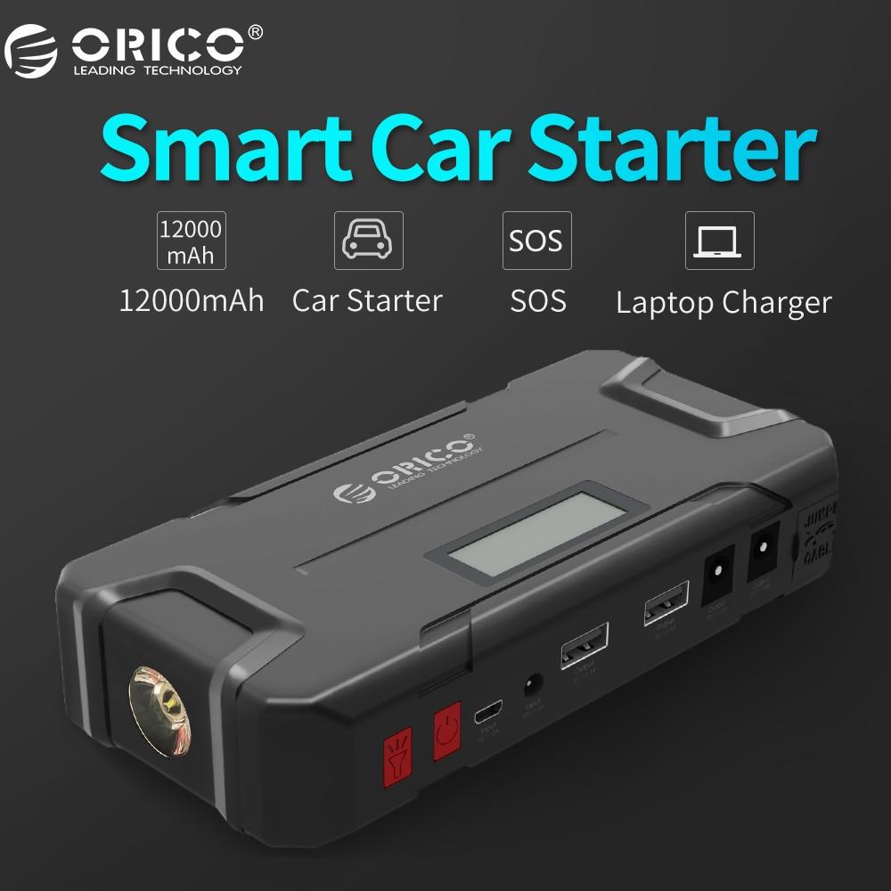 ORICO CS2 12000 mAh Mini Vehicel Energienbank Bewegliche Bewegliche Batterie Notfall Booster Buster Energienbank Für Handy Laptop Auto