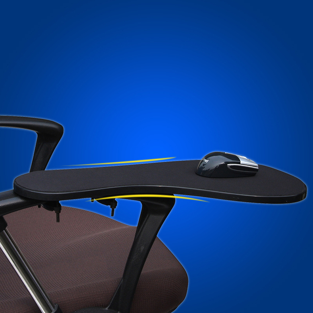 XL Size Chair Arm Rest Mouse Pad Chair Arm Clamping Wrist Support 480*230mm  Elbow