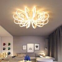 2018 новый алюминиевый современный светодио дный светодиодный потолочный светильник Гостиная Спальня украшение дома потолок Lmap lamparas de techo