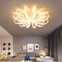 2018 New Aluminum Modern Led Ceiling Lights living room bedroom Home Decoration ceiling Lmap lamparas de techo plafonnier