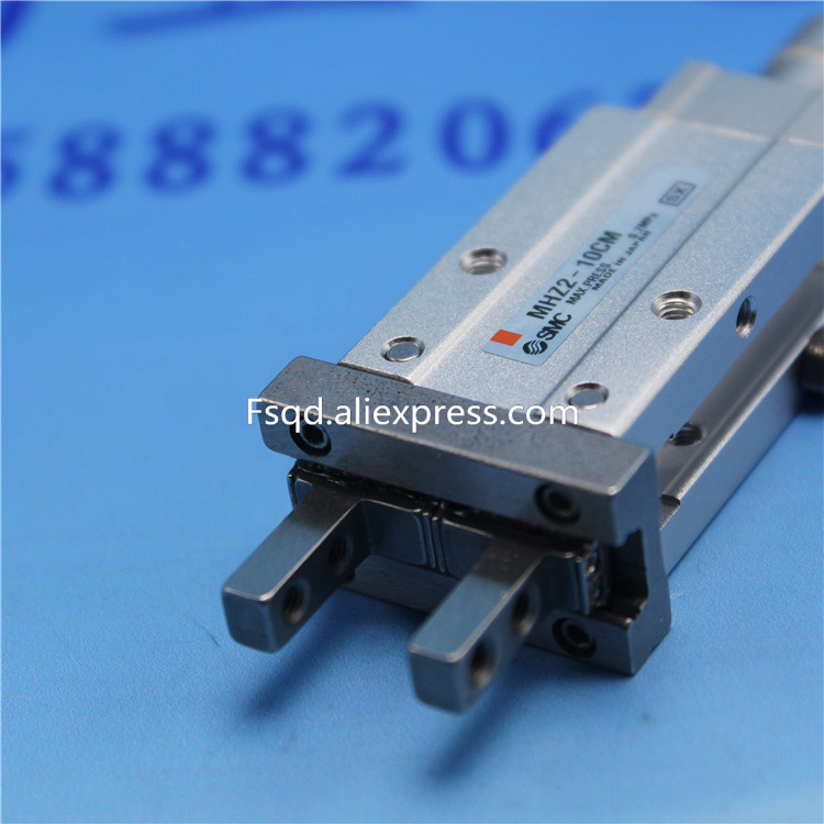 MHZ2-10CM  SMC  standard type cylinder parallel style air gripper pneumatic component  MHZ series ,Have  stock  to  sell mhc2 10d angular style double acting air gripper standard type smc type pneumatic finger cylinder