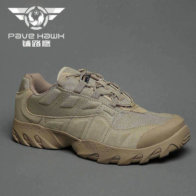 2019 Водонепроницаемый Для мужчин военный десант Армейские ботинки Мужская Уличная обувь кроссовки для Для женщин Нескользящие Повседневная обувь Спорт скальные туфли