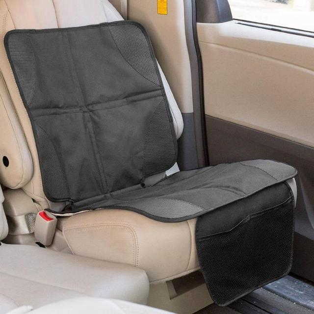 Premium High Quality Universal Car Seat Protector Mat Black Cover Infant Baby Easy