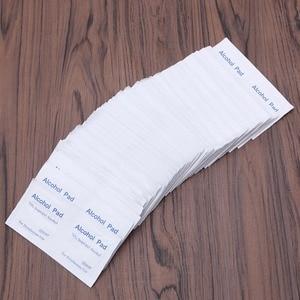 Image 5 - New 100 Pcs/Box Alcohol Wipe Pad Medical Swab Sachet Antibacterial Tool Cleanser
