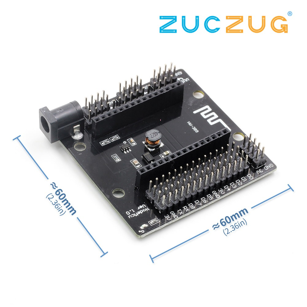 New <font><b>Expansion</b></font> <font><b>Board</b></font> V3 Lua Breakout Development <font><b>Boards</b></font> for <font><b>ESP8266</b></font> CH340G NodeMcu EM88 image