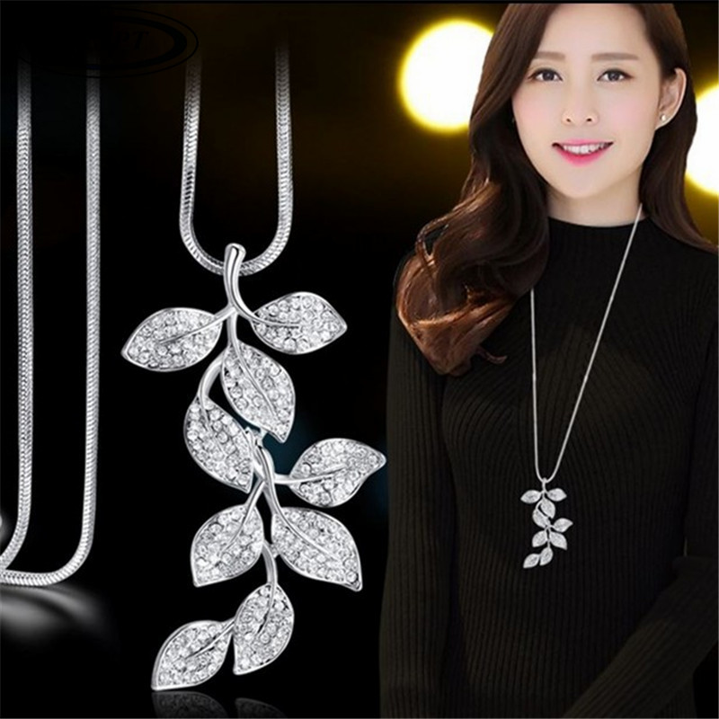 BYSPT-Silver-Color-Jewelry-Crystal-Leaf-Necklace-Sweater-Chain-Long-Necklace-wedding-Accessories.jpg_640x640