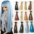1 шт. 15 * 100 см Natrual цвет парик для кукол провод ручной куклы парик волосы по 1/3 1/4 1/6 BJD куклы