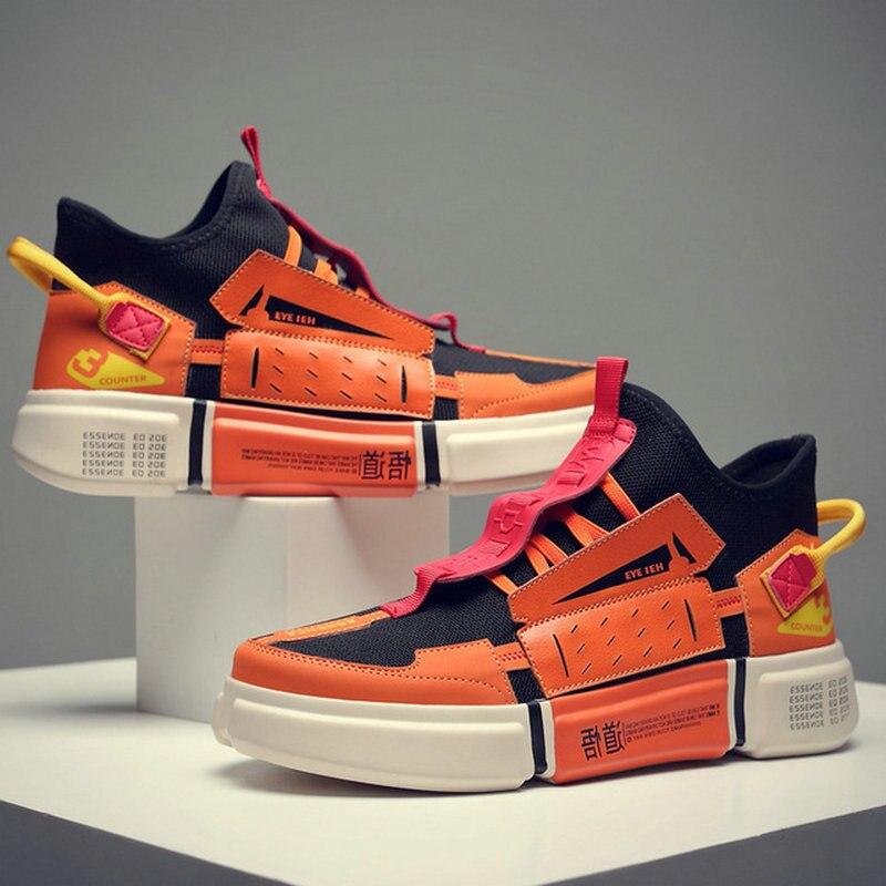 Hommes chaussures décontractées hommes baskets Tenis Zapatos Hombre Vintage mode hommes maille chaussures 2019 léger respirant Sneaker A21-04Z