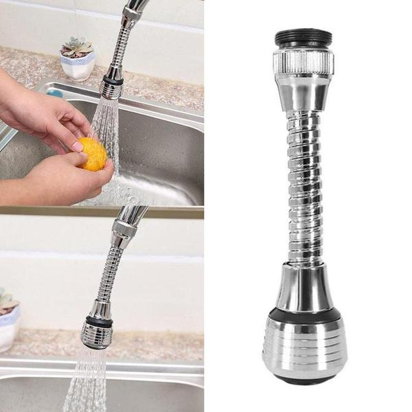Kitchen New Faucet Shower Head Anti-splash Universal 360 degree Rotary Faucet Filter Water Tap Nozzle Kitchen Faucet Accessories
