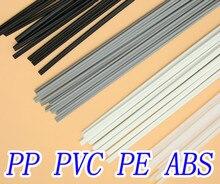 Free shipping 40 PCS Plastic welding rods welder rods ABS/PP/PVC/PE for plastic welder gun/hot air gun