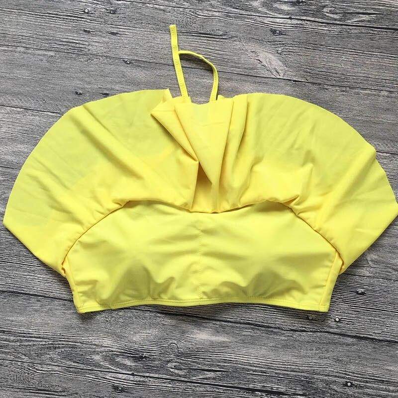 HTB18e4dRQvoK1RjSZFwq6AiCFXa4 Swimwear Women Bikini 2019 Mujer High Waist Swimsuits Ruffles Bikinis Swimming Suit For Womens Push Up Bathing Suits Biquini