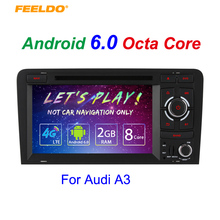 7″ inch Android 6.0 (64bit) DDR3 2G/32G/4G LTE Octa Core Car DVD GPS Radio Head Unit For Audi A3/S3(2003~2011) #4583