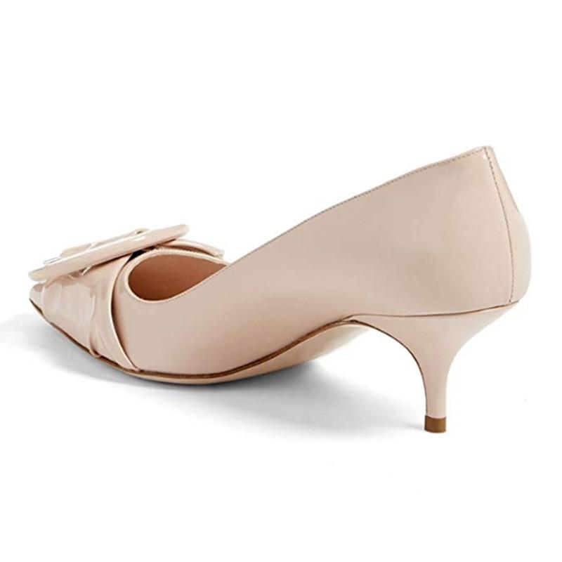 Chaussures De Papillon Talons Bout noeud Cuir Automne Pointu fsj02 Pour Printemps Fsj01 fsj03 Femmes Soirée Mode Robe Mi fsj04 En Dames 2018 Casual Femme Pompes X0q7OwTn
