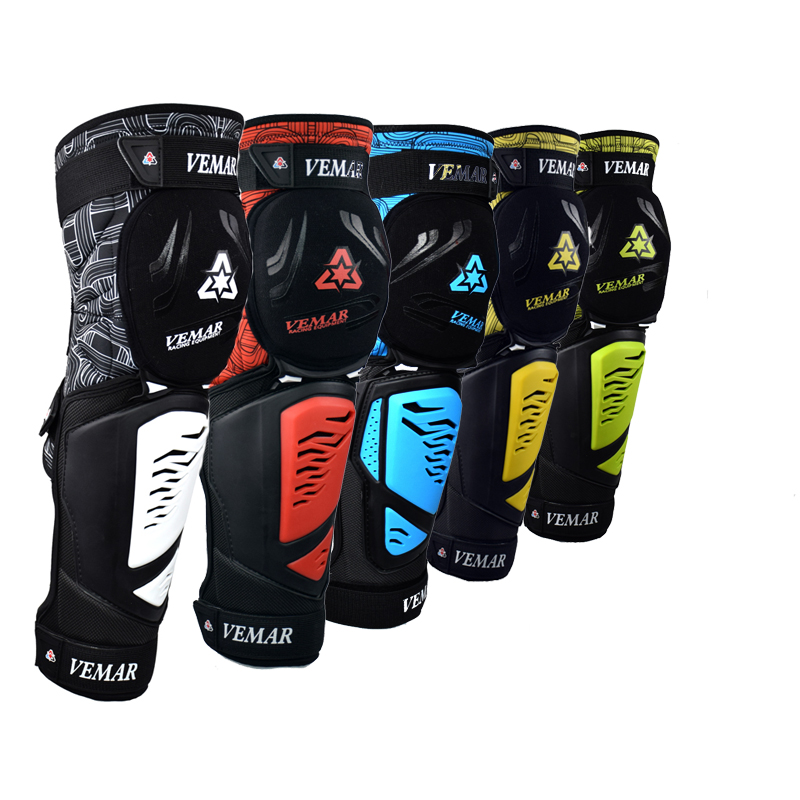 VEMAR Motorcycle Knee Pads Kneepads Tactical Fireproof PP Shell Kneepad Riding Motocross Slider Motorcycle Protection Joelheira