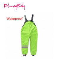 2 7Yrs Kid S Raining Pants Childrens Waterproof Overalls Clothes For Raining New Hot Boys Girls