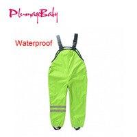 2 7Yrs Kid S Raining Pants Childrens Waterproof Overalls Clothes For Raining New Hot Boys Girls