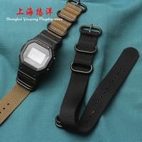 For GW M5610 DW5600 GW 5000 breathable watch strap nylon canvas watch band 22mm
