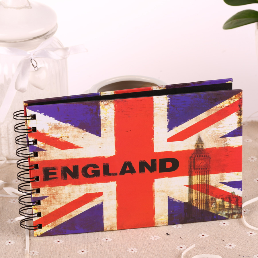 Scrapbook paper england - 2015 Sale Scrapbooking Free Shipping British Flag Photo Scrapbook Paper Crafts For Baby Wedding Picture Photograph Sticker 6inch In Photo Albums From Home