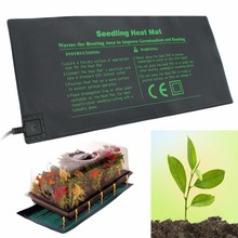 18W Seedling Heat Mat Plant Seed 52 x 24cm Plant Breeding Heating Pad Germination Propagation Clone Starter Pads Mayitr weedy setaria seed germination dormancy behavior