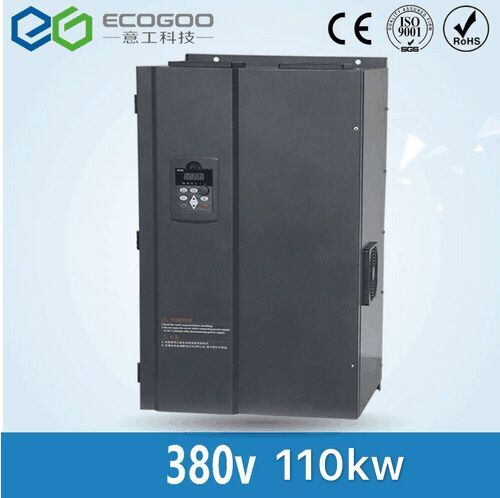 цена на Hot sale 110KW/3 Phase 380V/210A Frequency Inverter--Vector Control 110KW Frequency inverter/ Vfd 110KW